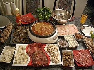 Hot pot East Asian varieties of stew