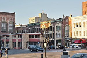 National Register of Historic Places listings in Macon County, Illinois - Image: Decatur Downtown Historic District