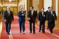 Defense.gov News Photo 100721-D-7203C-028 - Secretary of Defense Robert M. Gates left Secretary of State Hillary Clinton South Korean President Lee Myung-bak South Korean Foreign Minister.jpg