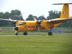 De Havilland Canada DHC-5 Buffalo - A CC-115 Buffalo of 442 Transport & Rescue Squadron at Rockcliffe Airport in Ottawa, 2004