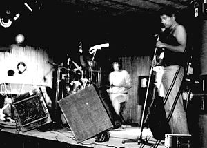 Area (band) - AreA live in Castelmassa (Rovigo), Italy, 1978