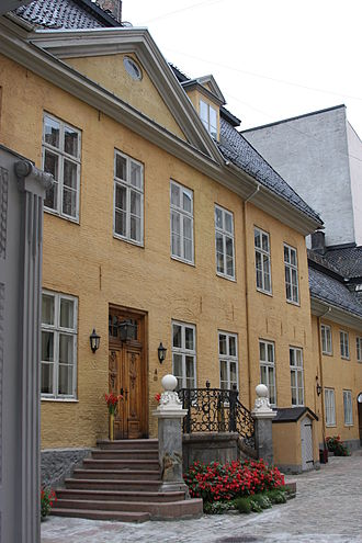 Norwegian Military Academy - The former Military Academy building at Tollbugata 10