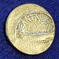 Denario di zecca al seguito di marco antonio, 32-31 ac, MAF 35986.JPG