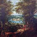 Denis van Alsloot - Landschap met waterburcht en jachttafereel.JPG