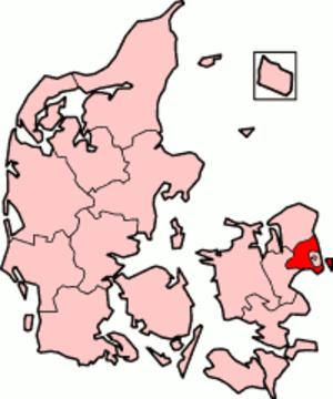Copenhagen County - Image: Denmark Copenhagen County