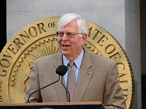 Dennis Prager - Prager speaking at the California Capitol Building in 2008.