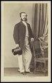 Deron, François - carte de visite, Portret van een man, staand.tif