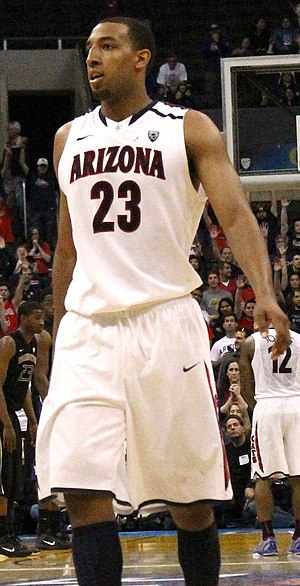 Derrick Williams (basketball) - Williams with Arizona in 2011