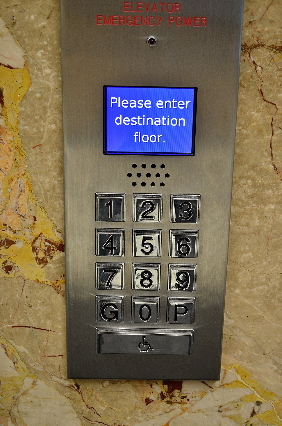 DestinationDispatchElevator