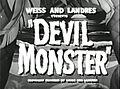 Devil Monster (1946) - Title.jpg