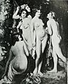 Diana protected by her nymphs when disturbed by Actaeon while bathing - I. L. Gloag.jpg