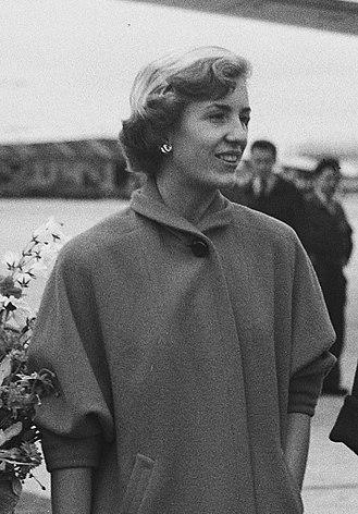 Diane Disney Miller - Diane Disney (Schiphol, 1951)