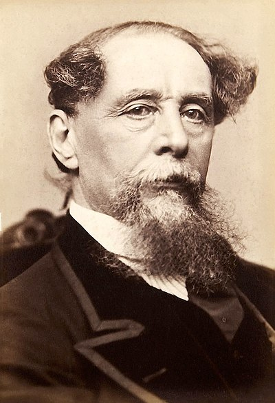 Picture of an author: Charles Dickens