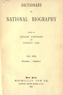 Dictionary of National Biography volume 22.djvu