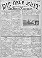 Die neue Zeit - Les Temps nouveaux, Issue of 2 November 1913, frontpage.jpg