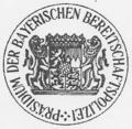 Dienstsiegel Präsidium der Bayerischen Bereitschaftspolizei (Druck, 2012).png