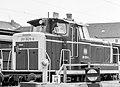 Diesel-Rangierlok 261 826-6 Deutsche Bundesbahn im Bahnhof Emmerich-0494.jpg