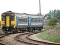 Diesel multiple unit 156409 on its way to Reedham Station - geograph.org.uk - 1442774.jpg