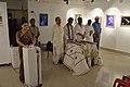 Dignitaries in Mourning for APJ Abdul Kalam - Biswatosh Sengupta Solo Exhibition Inauguration - Kolkata 2015-07-28 3159.JPG
