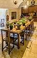 Dining room in the Castle of Chenonceau.jpg