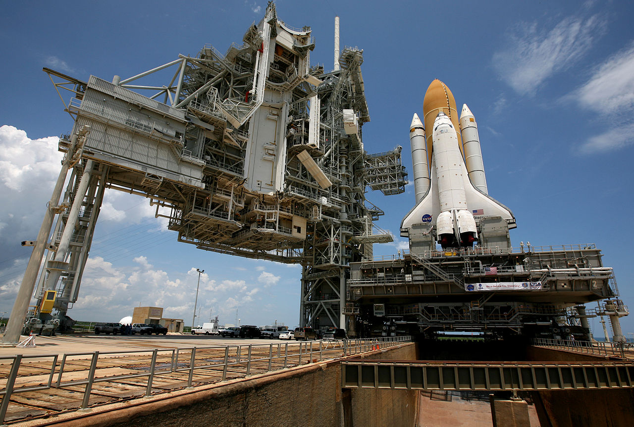 File:Discovery Launch Pad 39A.jpg - Wikimedia Commons