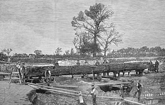 Brigg - Discovery of Iron Age dugout in 1886.