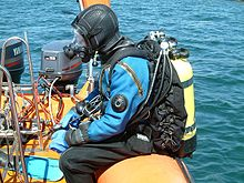 1940s vintage deep sea divers
