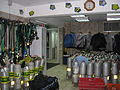 Diving equipment storage.JPG