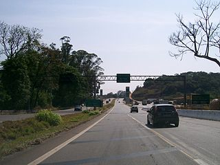 Rodovia Fernão Dias Highway in Brazil