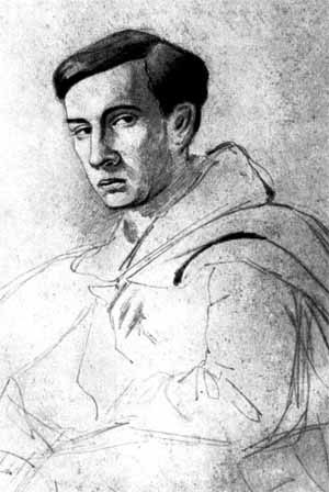 Dmitry Grigorovich - Self-portrait of the young Grigorovich.