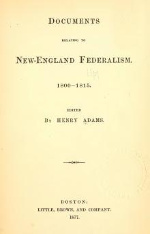 Documents Relating to New England Federalism.djvu