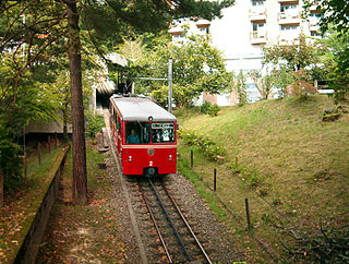 rack railway in the Swiss city of Zurich