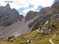 Dolomites - Alta Via 2, Stage 02-11 Rifugio Genova to Rifugio Puez - panoramio (5).jpg