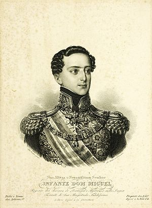 Miguel I of Portugal - Miguel I at age 26, 1828