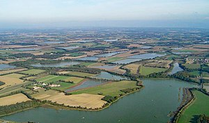 Dombes - Aerial photo