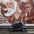 Don Quixote de la Mancha & Sancho Pança -streetart -Porto (24894922345).jpg