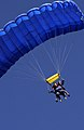 Donna Rathbun Sexual Assault Response Coordinator, performs her first skydive in support of Operation Free-Fall at Vandenberg Air Force Base, Ca., April 20, 2007 070427-F-NT771-123.jpg