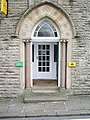 Doorway of No2 Church Brow, Clitheroe - geograph.org.uk - 743694.jpg