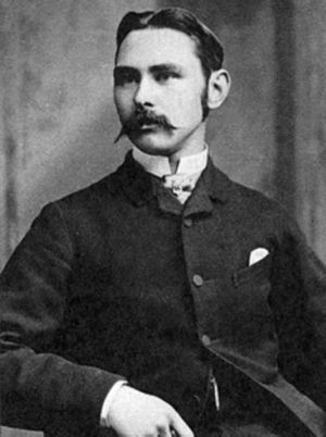Douglas Hyde - Hyde as a young man