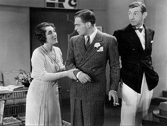 Slim Summerville - Slim Summerville (at right) in Little Accident (1930)