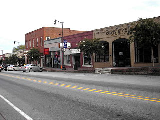Douglasville Commercial Historic District United States historic place