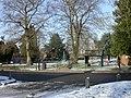 Downton, memorial gardens - geograph.org.uk - 1654739.jpg