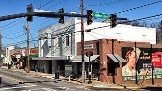 Hapeville, Georgia - Downtown Hapeville