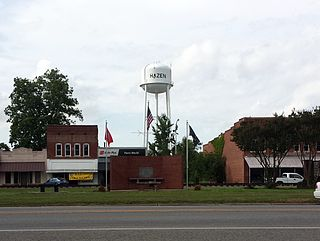 Hazen, Arkansas City in Arkansas, United States