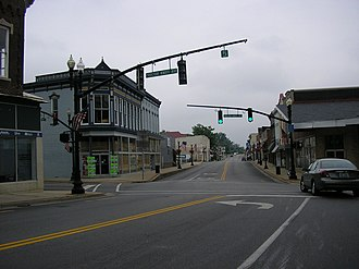 Lebanon, Kentucky - Downtown Lebanon