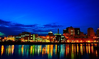 Downtown Saint Paul Neighborhood in Ramsey, Minnesota, United States