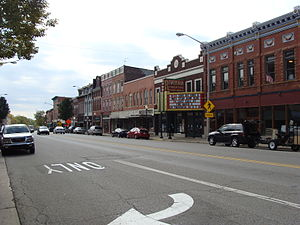 Three Rivers, Michigan - Downtown Three Rivers