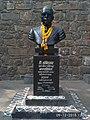 Dr. Babasaheb Ambedkar's statue at Bindu Chowk, Kolhapur.jpg