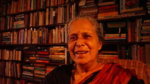 Dr Maria Aurora Couto, litterateur from Goa, India.JPG