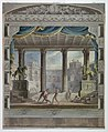 Drawing, Theater Curtain- View of a Classical Amphitheater, Marsigli-Rossi Theater, Bologna, 1808 (CH 18554137).jpg
